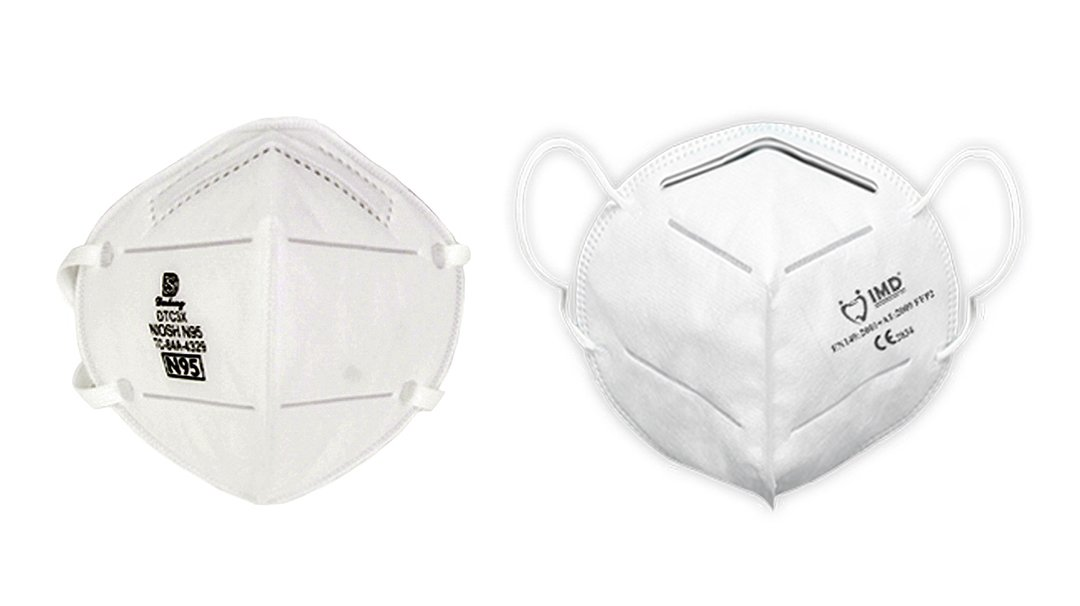 DTC3X N95 Construction Mask, TRRM-P2 Respiratory Mask,